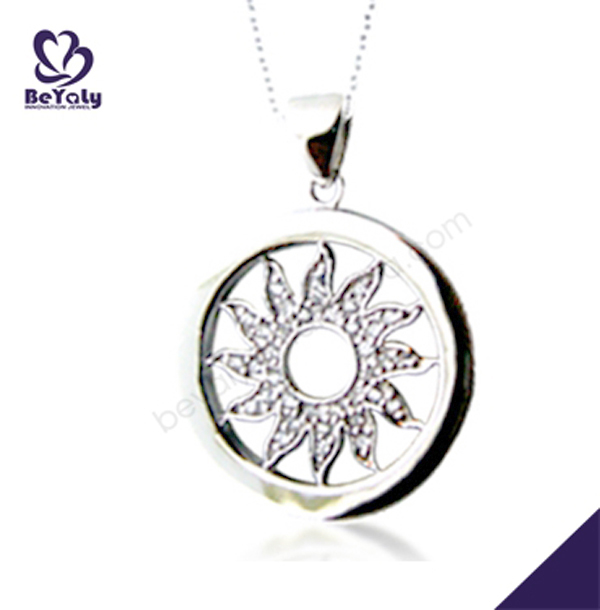 Fashion jewelry 925 silver quantum science pendant