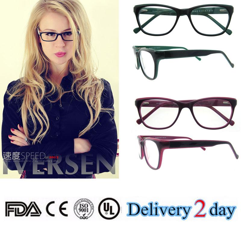 5490b293bb 2018 nuevo modelo ventaja gafas para mujeres Venta caliente acetato óptico  gafas famoso.