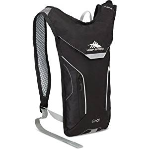 High Sierra Classic 2 Series Wave 70 oz. Hydration Pack, Black/Silver, 70 OZ.