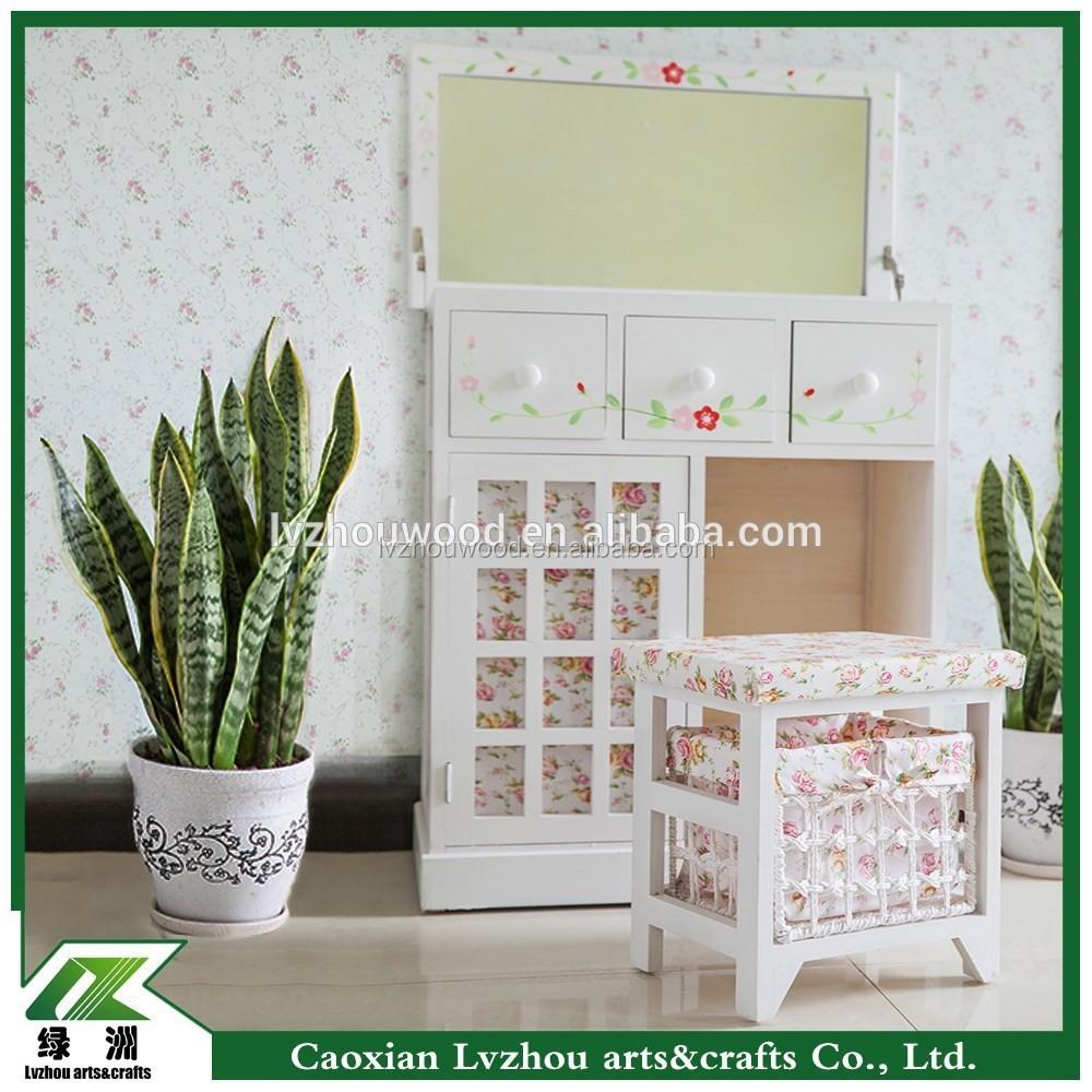 Reposteria de tocador de madera para muebles de dormitorio moderno vestidores identificaci n del - Tocador moderno dormitorio ...