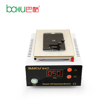 China Mobile Phone Vacuum Touch Screen Laminating Repair Machine for Iphone Samsung LCD Separating BK-947