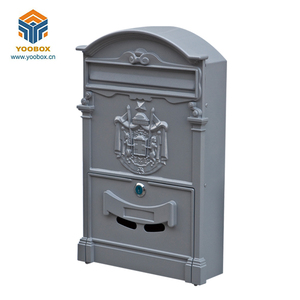 Mailbox Galvanized,Outdoor Decoration Craft Metal Cast Iron Material Mailbox