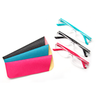 Ready Made Plastic PC Transparent Frame Reading Glasses With Case Pouch 1.0,1.5,2.0,2.5,3.0,3.5