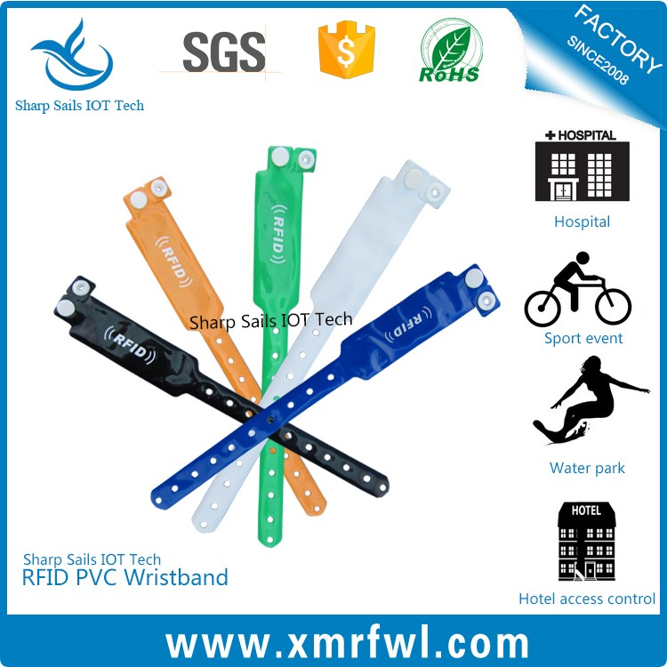 Wholesale PVC One Time Using Disposable Paper Rfid Wristband