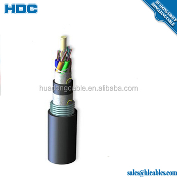 Outdoor  Awg Multipair Gel Filled Underground Cable Armoured Cable