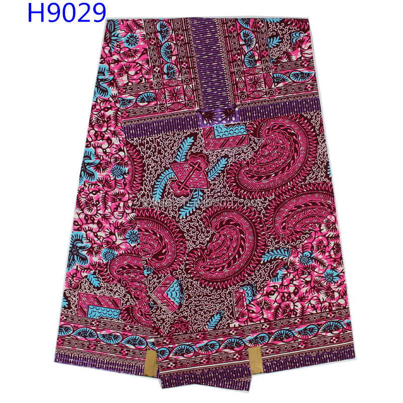 New design pattern popular Holland wax fabric good styles african printed wax for women dress