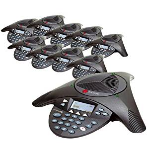 Polycom SoundStation2W DECT6.0 Wireless Conference Phone 2200-07880-160 (10 Pack)