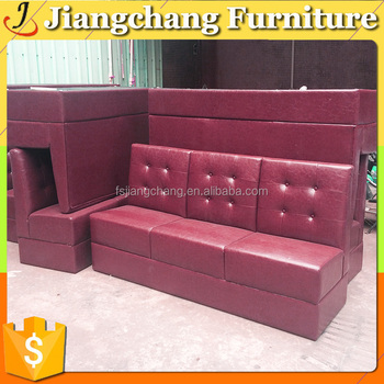 Best Price Leather Sofa Upholstered Booth Seating - Buy Booth ...