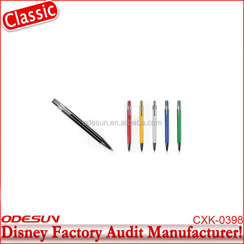 Disney Universal NBCU FAMA BSCI GSV Carrefour Factory Audit Manufacture Rotomac Ball Pen With Magnet