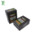 Custom Printed Black Small Antique Cigarette Packaging Luxury Cigar Boxes