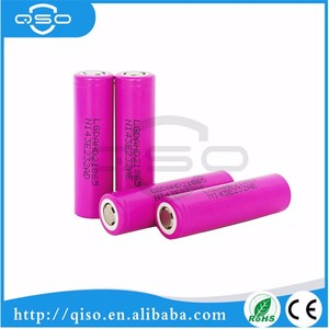 original imported LG HD2 2000mAh 18650 rechargeable battery for ecigs, flashlights