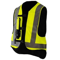 Hi visiblitty security fire retardant reflective vest safety