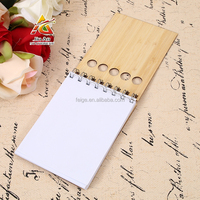 Printed Style and 80 Sheets Inner Pages BAMBOO NOTEBOOK