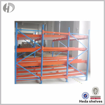 Textile Industry Storage Solution Warehouse Metal Fabric Roll Storage Rack