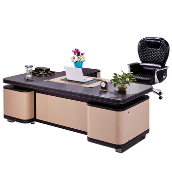 Incroyable Leather Office Desk Set High End Office Desk Luxury Office Desk   Buy  Leather Office Desk Set,High End Office Desk,Luxury Office Desk Product On  ...