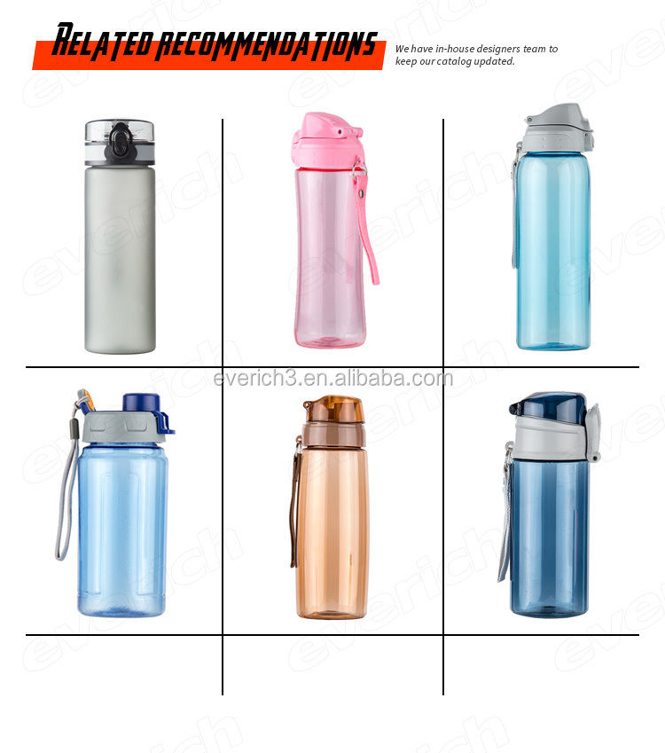 Free Sample Factory Directly Price Plastic Sports Water Bottle Bpa Free