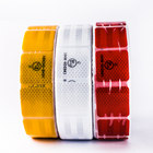 PET colors adhesive tape roadway safety reflective sheeting for truck safety