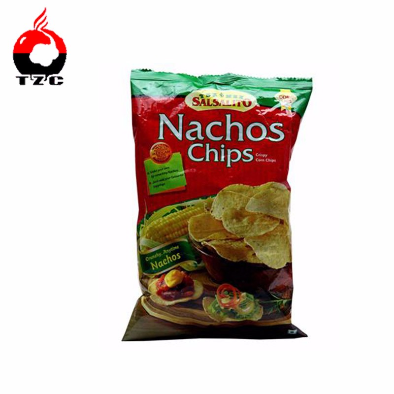 gravure printing back side sealing nacho chips packaging bags
