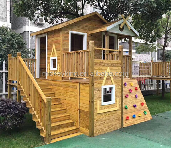 Kids Play System Area,Outdoor Wooden Playground,Kids Play