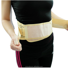 Lumbar Brace Belt Double Pull Strap Lower Pain Infrared Heat Back Support