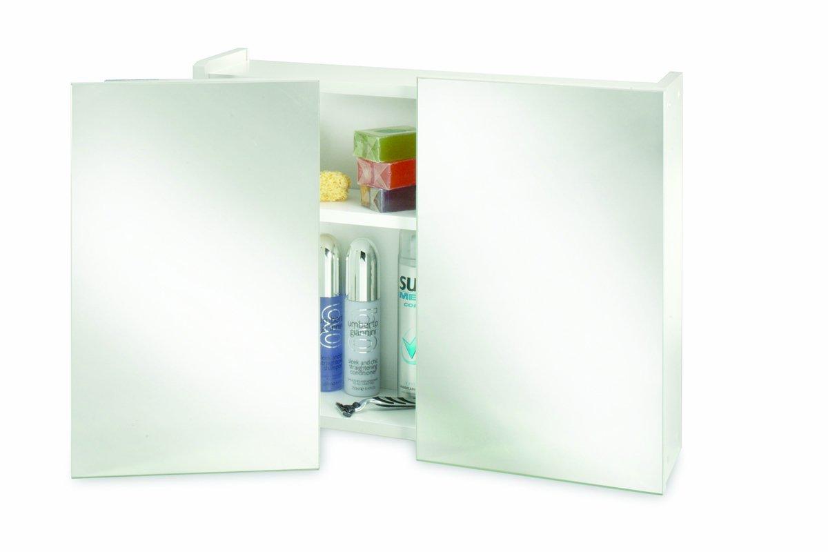 Croydex WC301922YW Swivel Double Door Cabinet, White