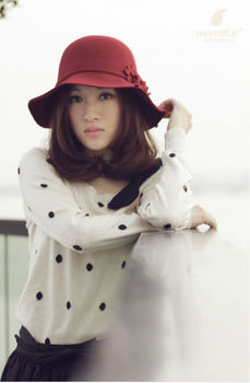 latest ladies elegant winter hat e5cfc9e5124