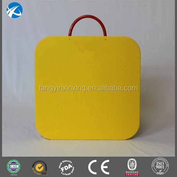 yellow UHMWPE plastic wear-resisting pads /hdpe crane pada /mobile outrigger pads