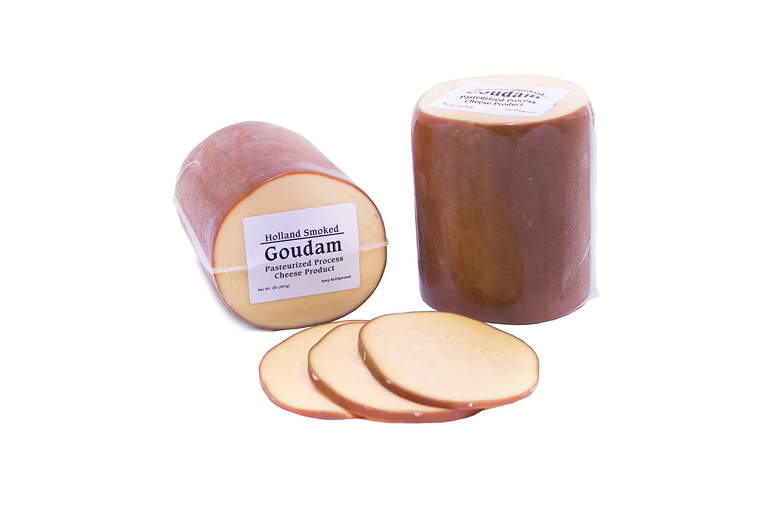 Dutch Garden Smoked Goudam Cheese (Pack of 2)