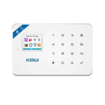 99 Wireless Alarm Zone KERUI Wifi GSM Alarm System for Home Security