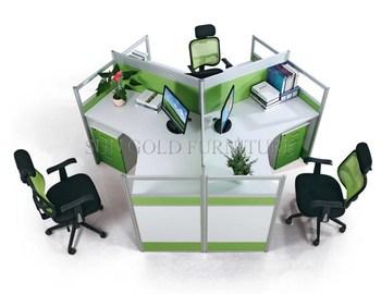 Ufficio Stile Moda : Nuova moda stile unico 3 persone melamina ufficio workstation mobili