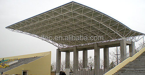 Customized Light Steel Space Frame Structure for Sport Hall