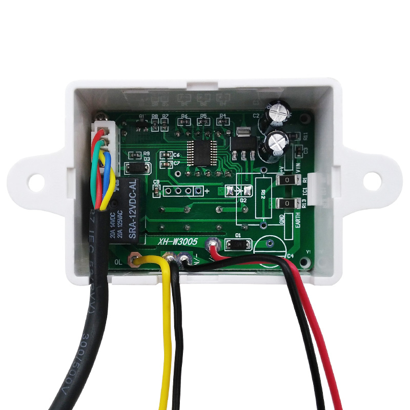 12V-220V Digital Humidity Control Controller Switch hygrostat Hygrometer Sensor