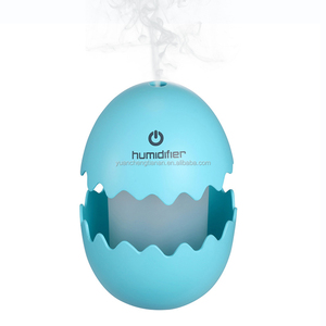100ml Broken Egg Ultrasonic Car Humidifier Manual Control Usb Humidifier Air Purifier With Led Light
