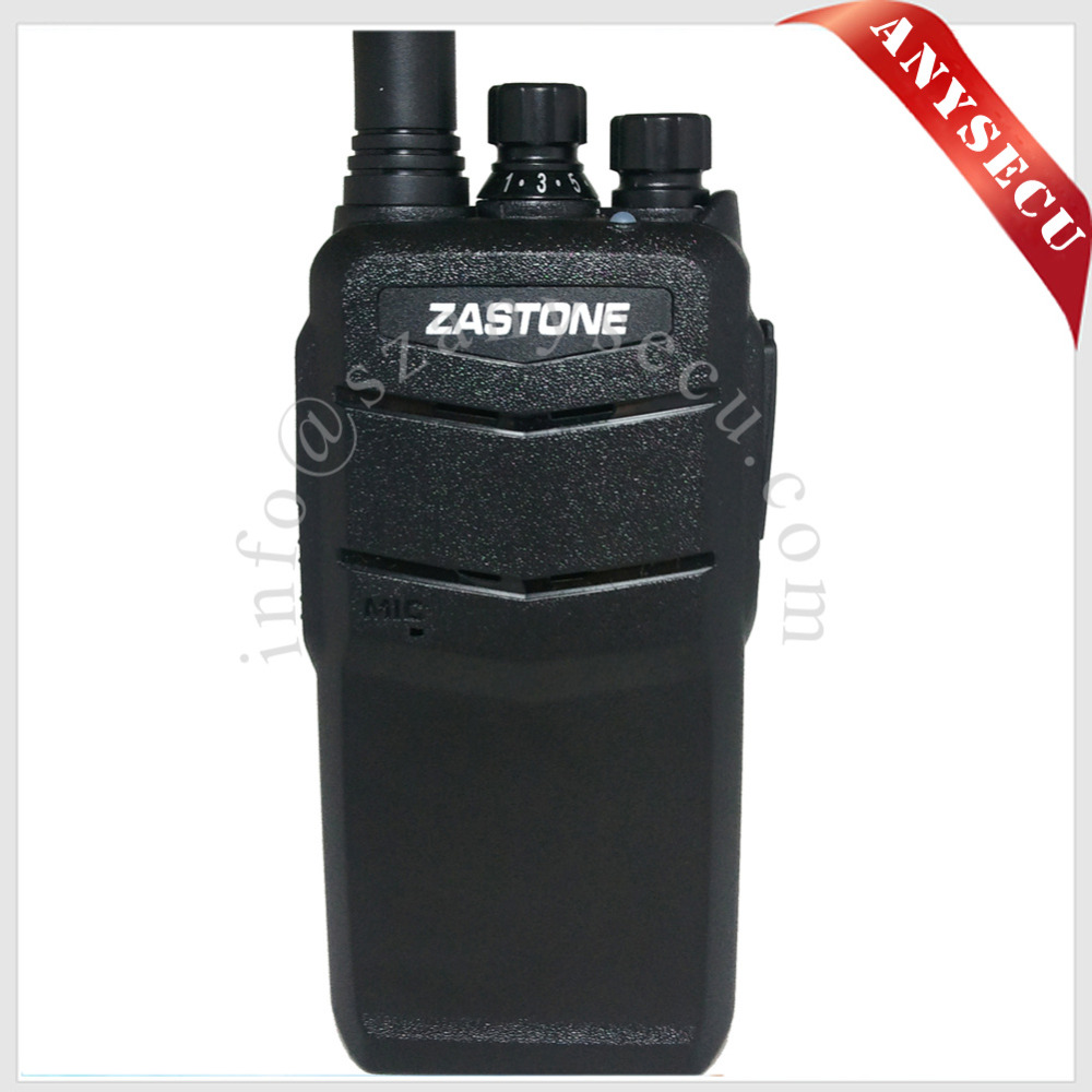 Hot Sale IP67 Water-proof 7W UHF 400-480MHz Walkie Talkie Zastone ZT-V1000 With 2000mAH Battery Handheld Radio