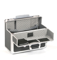 Portable lock Aluminum Laptop File Magazine Tools Case Tool box
