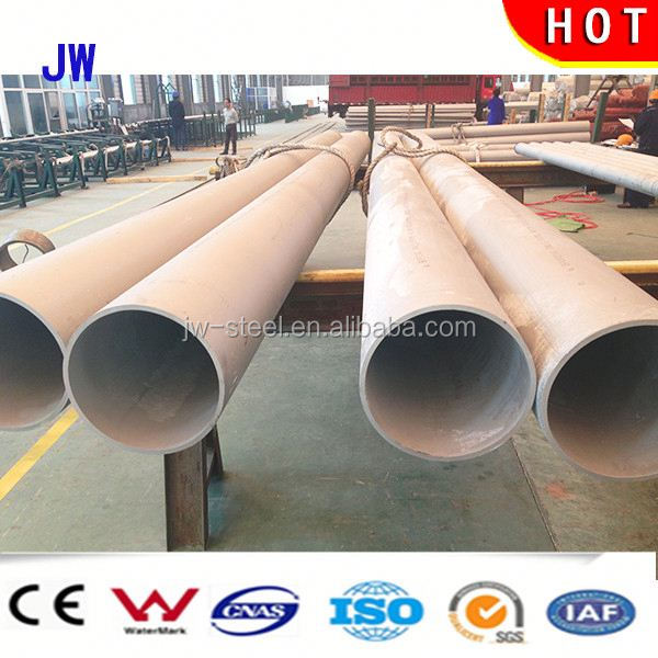 Factory Supply Super Duplex duplex seamless / welded austentic stainless steel tubes