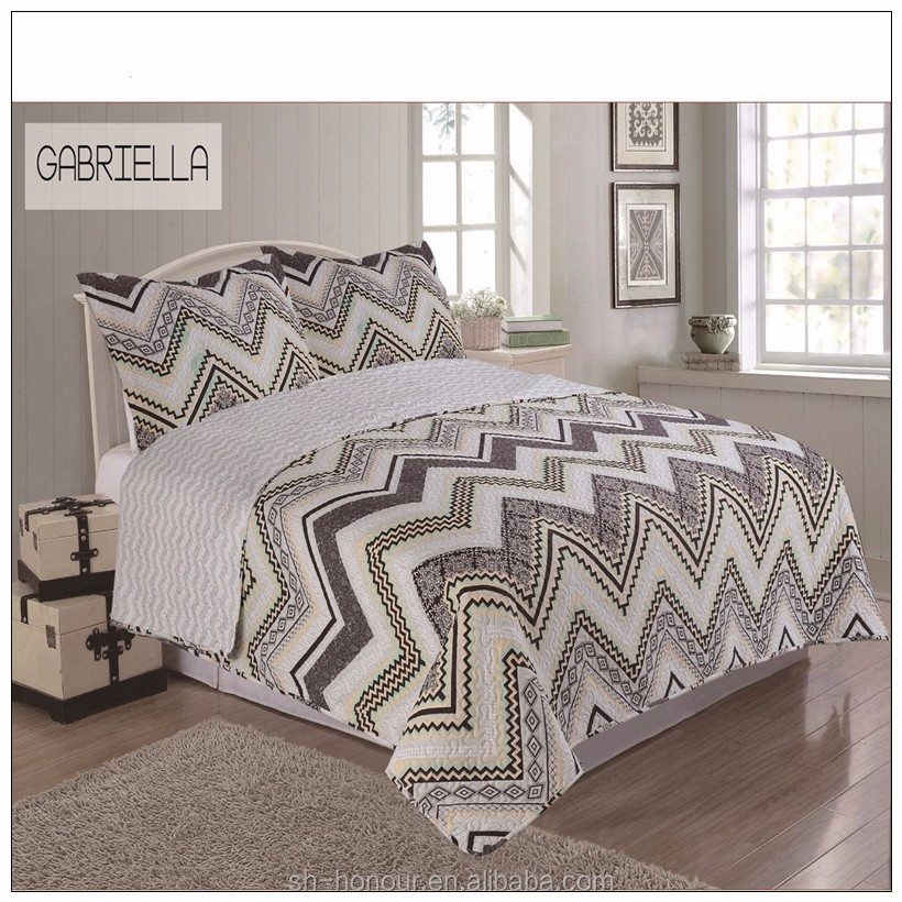 Madison Park Quebec Twin Size Quilt Bedding Set - Ivory, Damask – 2 Piece Bedding Quilt Coverlets – Ultra Soft Microfiber Bed Quilts Quilted Coverlet. by Madison Park. SIZE: Single Bed (Almost 90