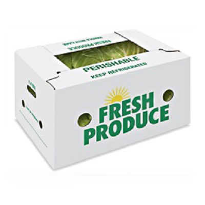 Recyclable waterproof paper corrugated cardboard wax boxes for produce