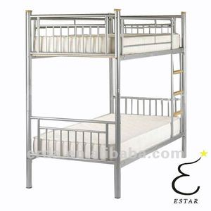 Modern Steel Tube Bunk Bed For middle school