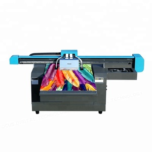 Large format uv flatbed printer with rotary attachment price