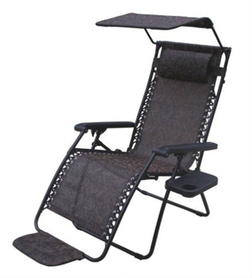 Sling Canopy Chair With Canopy And Footrest,Size Enlarge 5cm   Buy Outdoor  Lounge Chair,Folding Sling Chair,Indoor Sling Chair Product On Alibaba.com