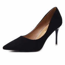 2018 Italian Fashion Lady Pumps Heel Dinner Shoes