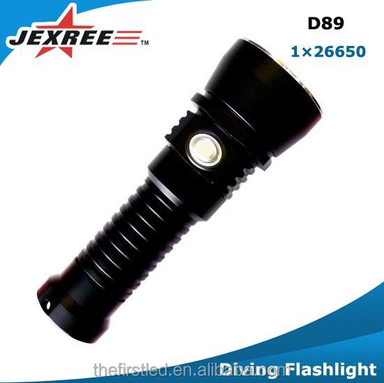 Jexree D89 Led Diving Flashlight,Led Rechargeable Flash Light,Led ...