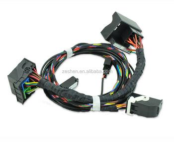 Microphone And Wiring Harness For Rcd510 Rns 510 Retrofiting Bluetooth  Straight Plug Plug&play For Golf 6 Passat B6 B7 Cc - Buy Rns 510,Bluetooth