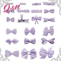 Wholesale Solid Colorful Customized Satiny Mini Satin Ribbon Bows