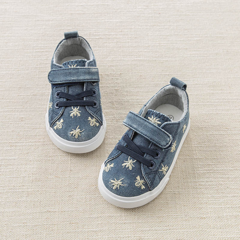 DB7609 Dave Bella spring baby boy kids canvas shoes children brand shoes