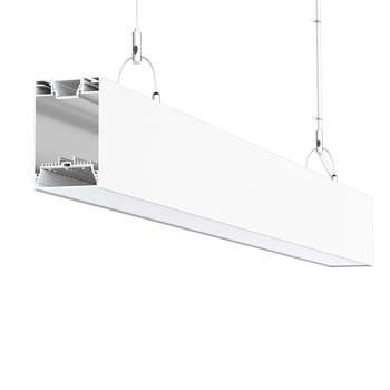 Led Linear Hanging Light Single Continuous Sl10075 40 50w