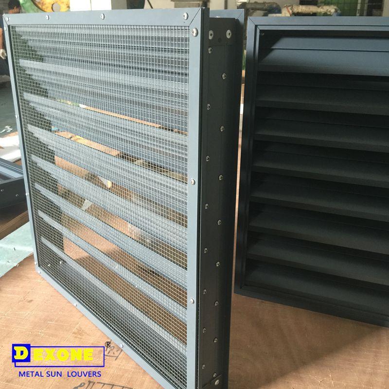 Extruded Aluminum Storm Resistant Louver View Aluminum