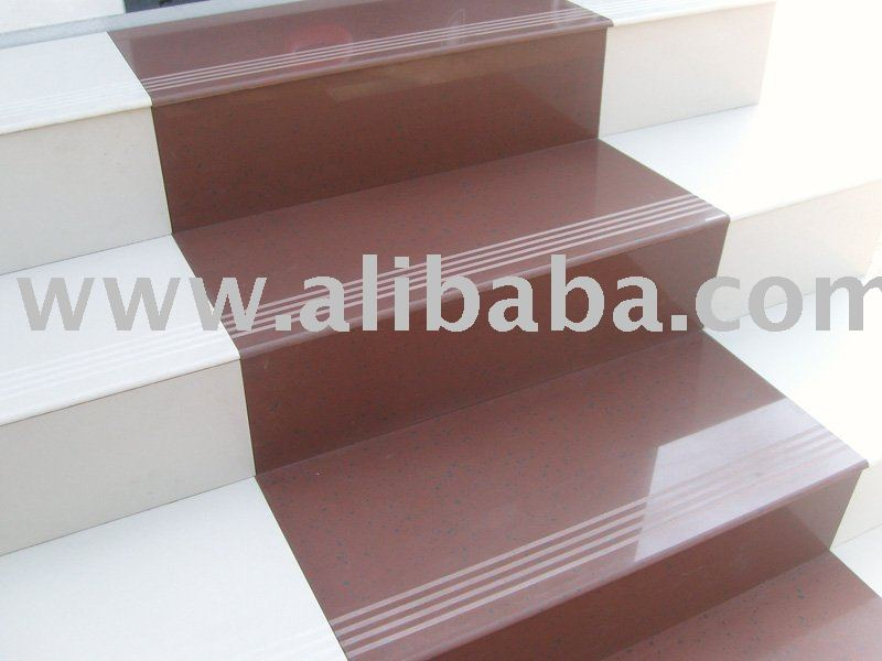 Beautiful Porcelain Tile For Stair Tread And Riser, Porcelain Tile For Stair Tread  And Riser Suppliers And Manufacturers At Alibaba.com