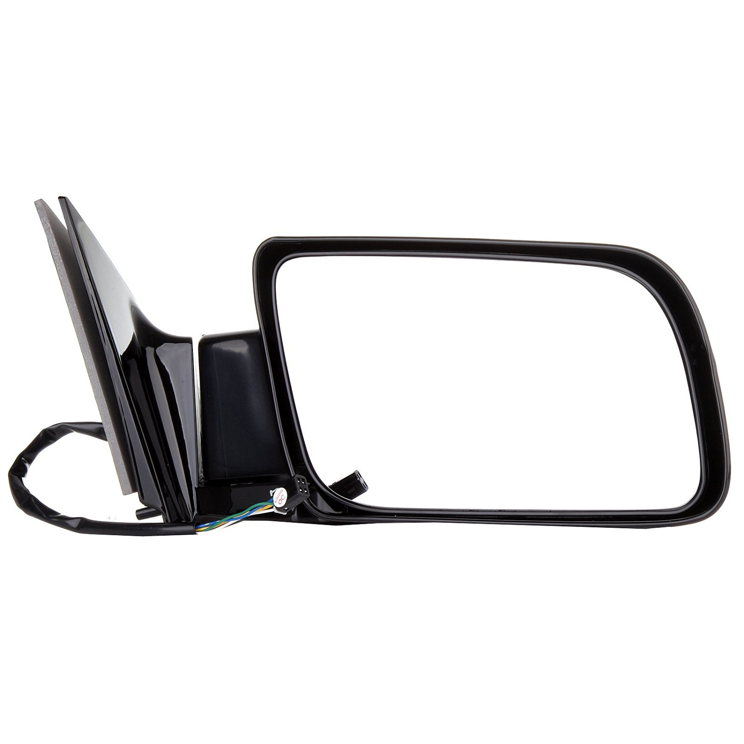 ECCPP Mirror Side View Power Folding Black Passenger side(RH) for 1988-00 Chevy GMC Pickup Truck GM1321122 128-2480R 15764758 955-192